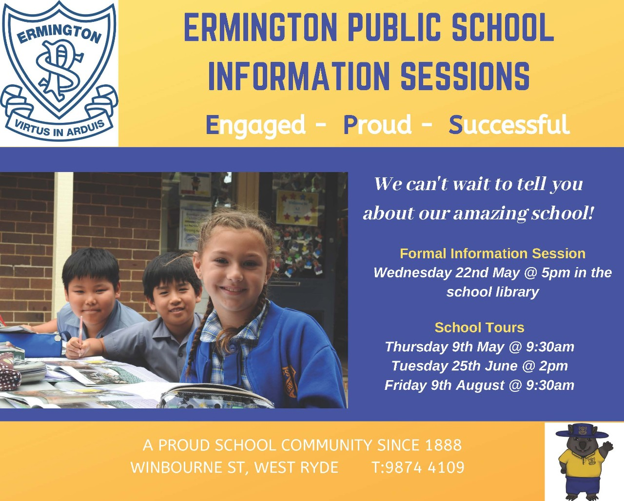 EPS Information Sessions